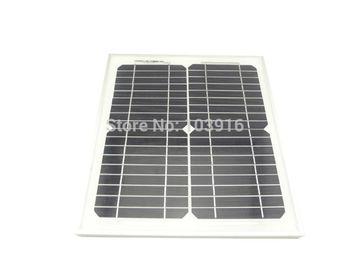 10w monocrystalline solar panel for 12V system, photovoltaic panel, solar module