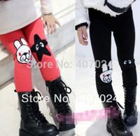 Sale 2012 Autumn/Winter cotton girls leggings kids boots pants cartoon bunny baby trousers 5pcs/lot  570059J