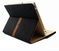 NewLuxury Button Belt Smart Stand Leather Case Cover For iPad 2/3 Mixed colors Free Shipping