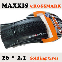 Maxxis CROSS MARK 26x2.1 or 26*1.95 senior mountain bike folding tire elevator tyre mountain bike tyreFree shipping