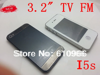 New 3.2 inch i5s 5s i5 A5 F8 TV  phone  Dual Cards Dual Standby  touch screen phone