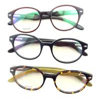Wood optical eyewear fashion glasses frame 4 models acetate frame wooden arms optical eyeglasses