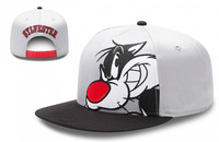 SYLVESTER cartoon Snapback Hats grey color men & women's fashion cat sports caps top quality low price freeshipping
