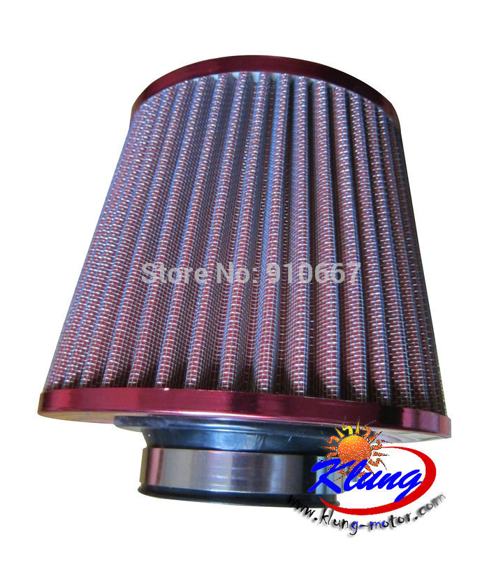KLUNG 63.5 mm large airfilter for 1100cc buggies,go karts, atvs,offroad vehicle.(China (Mainland))
