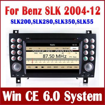 Car DVD Player for Mercedes Benz SLK 171 SLK200 SLK280 SLK350 SLK55 with GPS Navigation Stereo Radio Bluetooth TV USB AUX CD MP3