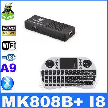 Rii Mini i8 Wireless Keyboard with Touchpad with  Android Mini PC TV Box Dual Core Rockchip RK3066 1G/8GB WiFi mk808B bluetooth