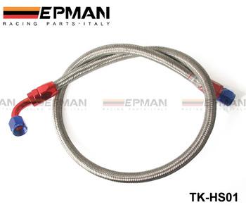 Universal Oil Feed Kit 1meter Stainless Steel Braided hose -AN10 fittings TK-HS01