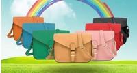 BH089 New 2014 Designer Handbag Satchel women leather handbags lovely women messenger bags candy color women handbag Hot sell Q9