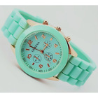 Geneva Casual Watch Women Dress Watch Quartz Military men Silicone watches Unisex Wristwatch Sports watch(China (Mainland))