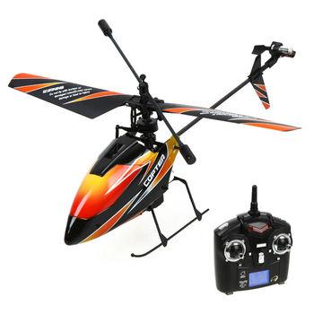 Wltoys V911 4CH 2.4GHz Mini Radio Single Propeller RC Helicopter Gyro RTF Dron