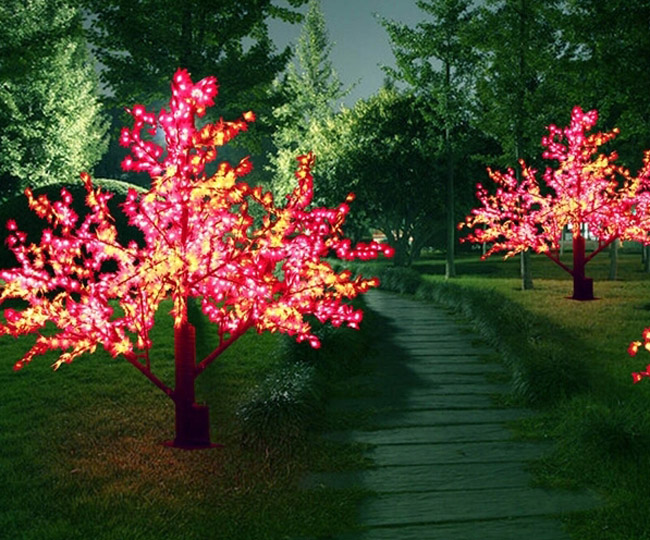 How To String Lights On A Maple Tree : Popular Outdoor Artificial Trees with Lights from China best-selling Outdoor Artificial Trees ...