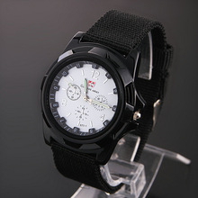 2014 Men's Sports Watch Analog free Watches Alloy dial 4colors military watches Fabric Strap Hot Sale Casual watch New(China (Mainland))