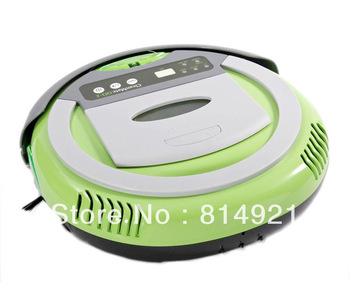 (Free to Albania)Robotic vacuum cleaner -4 in 1 multifunctional ,5 working mode,RF control,low noise,the best vacuum