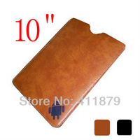 leather case for 10 inch tablet pc leather bag for 10 inch tablet PC free shipping