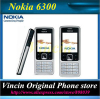 original Nokia 6300 cellphone unlocked mobile phone free shipping Refurbished