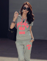 Free shipping! 2013 Summer hoodies Women's Leisure Suit Sport Suit  Sweater Suit Wholesale Price