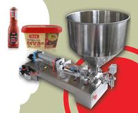 Filling range 5ML-300ML, for filling shampoo, oil, perfume, liquid paste filling machine