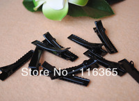 Free Shipping 200pcs/lot Iron Hair Clip Barrettes Clips Hair Accessory Crocodile Clips 40mm length