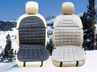 12V Universal Heated Car Seat Cushion Cover Seat Heater  Warmer Heater  temperature winter household cushion Color: black, gray