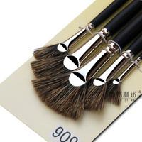 5 pcs bristle paint brush art supplies oil brush school supplies promotion product  free shipping