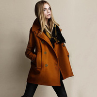 Tide High Quality Women's Clothing Fashion in Europe and America Version, Wide Coat Coat