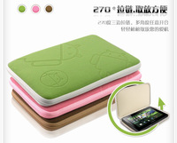 "Free Drop Shipping cloth 8"" Protector Bag Pouch Cover Case For MID PDA Tablet PC 8inch 2012 fashion design"