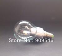 E14 E27 E12 5W glass LED Candle bulbs 5W high quality enviroment-friendly 5630 led  Free shipping 10pcs/lot 360degree