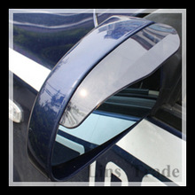 Free Shipping New 10Pair Car Rain Shield Rear View Side Mirror Shower Blocker Cover Sun Visor Shade Guard #8087(China (Mainland))