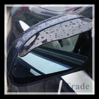 Free Shipping New 2PCS/Lot Car Rain Shield Rear View Side Mirror Shower Blocker Cover Sun Visor Shade Guard #8087
