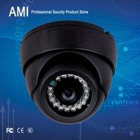 420TVL indoor IR dome  CCTV Camera Day Night Vision Surveillance Dome camera Black colour with 24PCS ir leds IR distance 25M