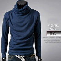 Holiday Sale New Fashion Men Sweater  tops long sleeve shirt Casual Slim Fitting