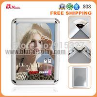 Free Shipping!!  Aluminum A4 32MM edge Snap Frame, Clip frame