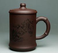 Yixing cup handmade purple clay tea cup ,free shipping!!!