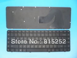 Laptop Keyboard For HP Compaq Presario CQ56 CQ62 G56 G62 Black United States US 605922-001(China (Mainland))