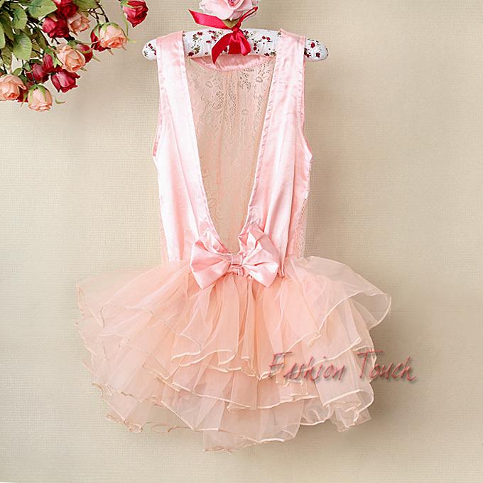 Summer fashion baby princess dress lace girl formal tutu dress pattern