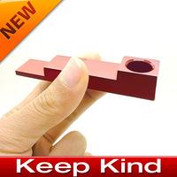 New magnet metal folding smoking pipe,metal smoking pipe,Free shipping