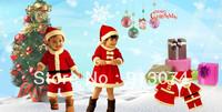 Hot Sale Christmas Gift Baby Romper + Hat Kids Christmas clothing Cotton Boy and Girl Sanda girl Sanda dress Masquerade