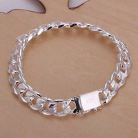 Free shipping 925 sterling silver jewelry bracelet fine fashion graceful bracelet top quality wholesale and retail SMTH032