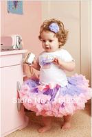 High quality , New style children clothes Light purple&pink tutus skirt, girl's pettiskirts tutu skirt,5pcs/lot