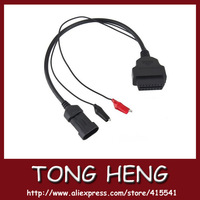 2012 newly professional  OBDII  Fiat 3 pin Connector in low price