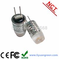 1.5 watt G4 10-30V 1pc hight light  Crystal Light bulbs