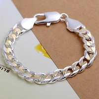 Free shipping 925 sterling silver jewelry bracelet fine fashion bracelet top quality wholesale and retail SMTH113