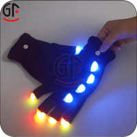 Flashing Led Magic Gloves with High Quality