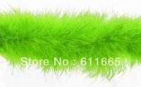 Free shipping Christmas Decoration Chicken Feather Boa Wedding Marabou Feather Boa,10pcs/lot,2yards/strip