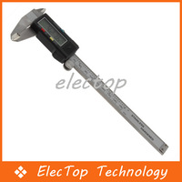 "Free shipping 150 mm 0.01mm 6"" Electronic Digital LCD Micrometer Vernier Caliper Guage Tool 50pcs/lot Wholesale"