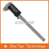 "Free shipping 150 mm 0.01mm 6"" Electronic Digital LCD Micrometer Vernier Caliper Guage Tool 50pcs/lot Wholesale"