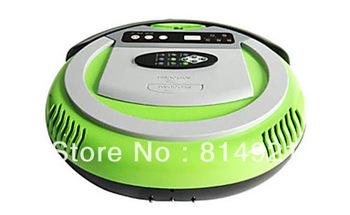 (Free to India) Robot vacuum cleaner,UV Light ,5 cleanmode,RF control,low noise,the best vacuum,recharge itself along wall