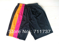 Free shipping Miami new material Rev 30 basketball shorts,Top quality sport shorts,embroidery logos,size S-XXL