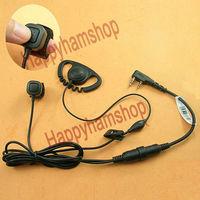 Adjustable Earhook Earphone for Wouxun KG-UVD1P KG-669 KG-659 TG-UV2 TG-K4AT KG-699E