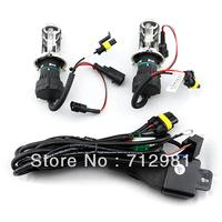 Free shipping 35W 12V H4-3 H/L auto Hid xenon light  H4-3 bi xenon lamp